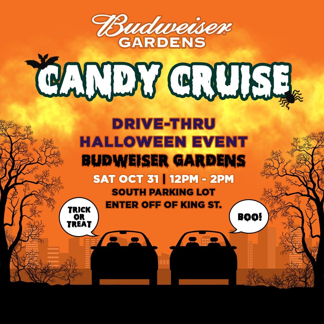 Candy Cruise Budweiser Gardens
