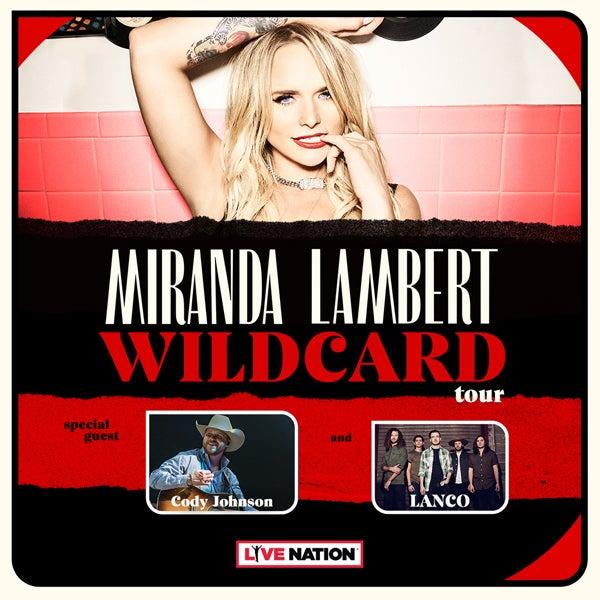 Miranda Lambert Tour 2020.Miranda Lambert Budweiser Gardens