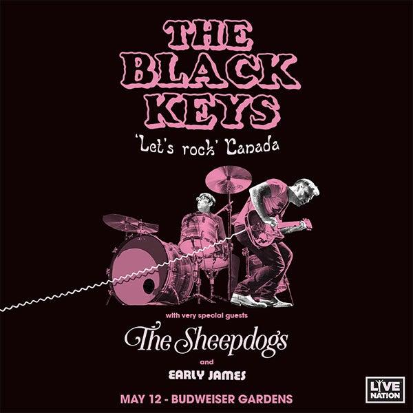 Cancelled The Black Keys Let S Rock Canada Budweiser Gardens