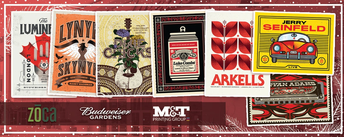 Budweiser Gardens Limited-Edition Artist Prints!