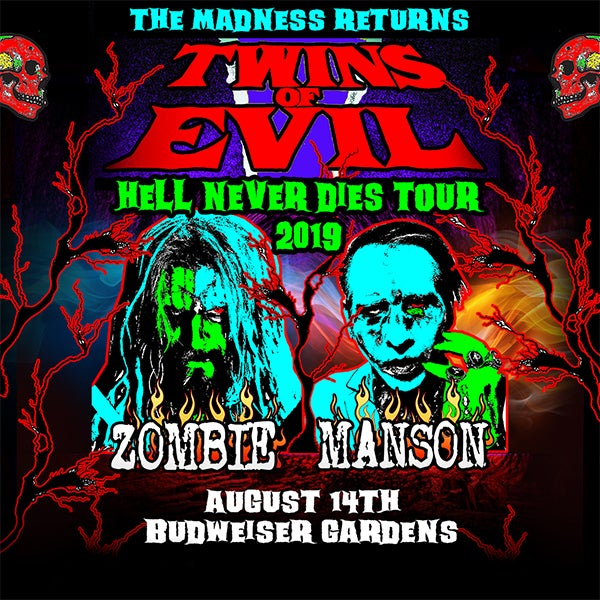 Twins Of Evil Hell Never Dies Tour 2019 Budweiser Gardens